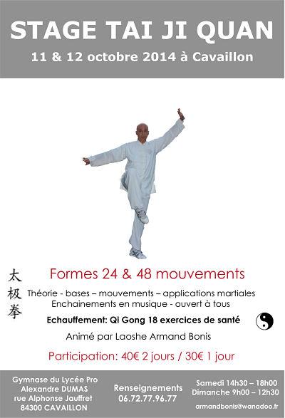 Association Luberon Tai Chi - Cours de Tai Chi Chuan, Qi Gong et Kung Fu à Cavaillon (Vaucluse ...